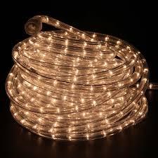 warm white incandescent rope lights 48ft 120v rlwl x 48 ww
