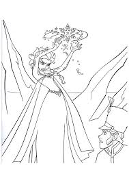 7 elsa coloring pages images colouring pages