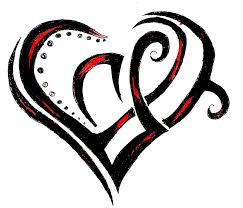 heart tattoo design edit by sammiikinselwinsel on clipart library