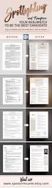 Best Font In Resume by 17 Best Resume Cv Template By Spot On Resume Images On Pinterest