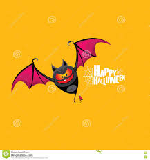 halloween free vector background happy halloween vector background with bat stock vector image