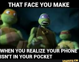 Tmnt Memes - tmnt memes completed when your phone isn t in your pocket