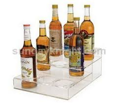 acrylic buffet risers and stands wholesale from china factory