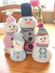 Diy Sock Snowman Diy Tea Stained Sock Primitive Snowmen Diy By Tracy Pinterest