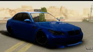bmw m4 stanced bmw m5 for gta san andreas