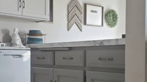 how to paint cabinets grey two tone gray cabinets 8th avenue kitchen mesheddesigns