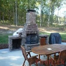 Firerock Masonry Fireplace Kits by Outdoor Fireplace Outdoor Fireplace With Knight Chimney Cap