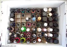 diy nail polish storage old perfume set box u003d perfect for the