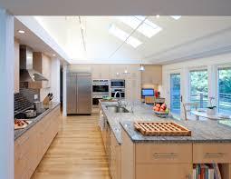 kitchen contempo white open floor plan kitchen design ideas with