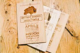 engraved wedding invitations rustic wedding invitation engraved on wood planks by factory enova