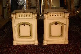 pair of painted white bedroom lockers u2014 renaissance