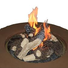 napa valley crystal fire pit table napa valley gas fire pit table woodlanddirect com outdoor