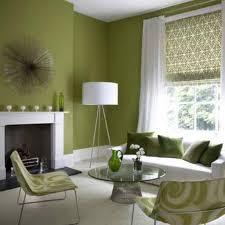 retro livingroom natural green scheme inside open plan gallery including shades of