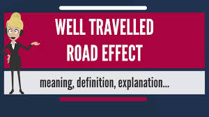 traveled definition images What is well traveled road effect what does well travelled road jpg