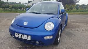 used volkswagen beetle 2001 for sale motors co uk