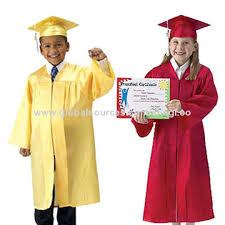 kindergarten cap and gown graduation gown set global sources