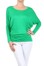 size solid lightweight dolman sleeve knit top