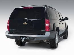 gmc yukon back premium rear bumper fab fours