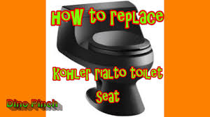 Kohler Kids Toilet Seat Seat Replacement Kohler Rialto Toilet K 3386 Dino Youtube