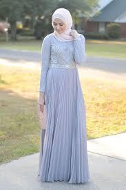 gaun muslim busana muslim pesta 2018 model dress modern baju muslim terbaru