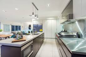 sold corona avenue ashgrove cape cod residential stunning commercial grade chef stove and rangehood take centre stage this cleverly designed kitchen including waterfall caserstone island