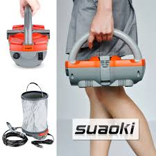 small battery powered water pump portable pressure washer suaoki