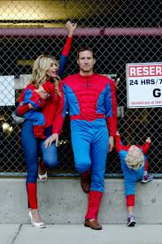 Family Of 7 Halloween Costumes by Spidey Family