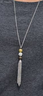 making necklace chain images Mixed metal filigree ball necklace jewelry making necklaces and jpg