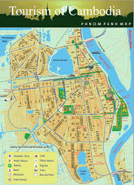 City Map Phnom Penh City Map Cambodia Travel Maps Plan Your Trip To