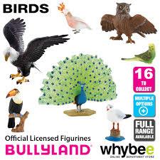 genuine bullyland birds collection plastic figurines figures full