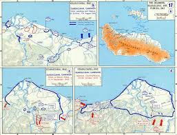 Ww2 Europe Map by Map Of Wwii Guadalcanal Island 1942