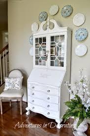 Secretary Desk Hutch by 485 Best Decor Secretary Desks Images On Pinterest Painted