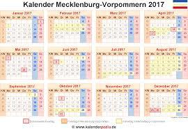 Kalender 2018 Feiertage Mv Kalender 2017 Mecklenburg Vorpommern Ferien Feiertage Pdf Vorlagen