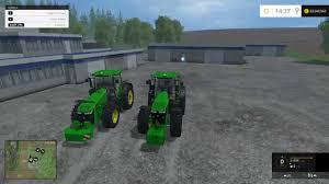 john deere tractor game 8335r john deere tractor john deere l la new holland t6 john deere farming simulator 2015 testing john deere pack 7r 8r v 1 0 youtube