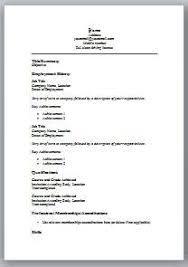 Monster Resume Builder Free Download Free Resume Templates Word Resume Template And