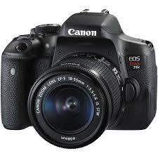 target camera black friday canon eos rebel t6i dslr camera with 18 55mm lens walmart com