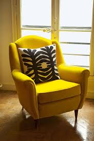 Yellow Velvet Armchair Best 25 Yellow Armchair Ideas On Pinterest Yellow Chairs