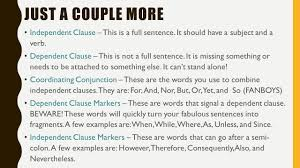 comma splices fused sentences and fragments a few ways to make