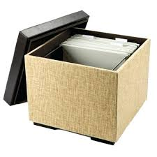 Hanging File Storage Ottoman Ottoman File Cabinet How To Make An Ottoman Filing System Better
