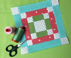 a scrappy christmas tree quilt block free pdf tutorial