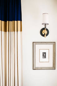 Navy And White Drapes Curtains White Curtains With Gold Accents Enthusiastic White