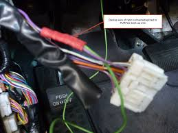 installing a backup camera which harness wire indicates backup