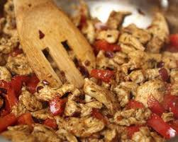 cuisine sur plancha recette escalopes de poulet et poivrons marinés à la plancha