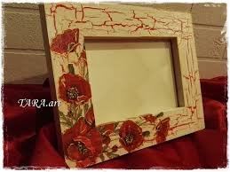 decoupage home decor decoupage frame wooden frame home decor wall decor wood frame