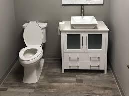 is vinyl flooring for a bathroom bathroom flooring options for durability style cali