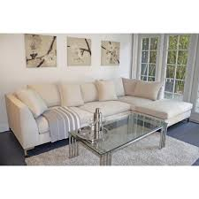 fabric sectional sofas with chaise ivory line fabric sectional sofa with right chaise and shelter