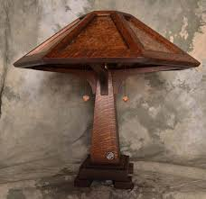 Arts Crafts Lighting Fixtures Arts And Crafts Style Saugatuck Table Mica L