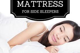 best mattress for side sleeper best mattress for side sleepers 2018 best mattress reviews