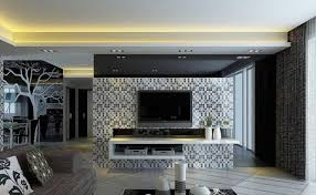 unique 60 living room with tv mounted on wall design ideas of top