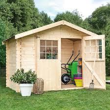 construction d une serre de jardin en bois abri de jardin bois 12 25 m ep 28 mm flodime plantes et jardins